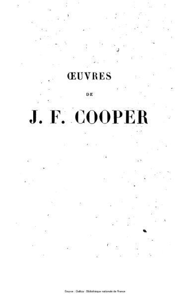 File:Cooper - Œuvres complètes, éd Gosselin, tome 27, 1847.djvu