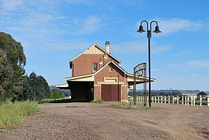 Cootamundra West railway station - Image: Cootamundra West Railway Station 001