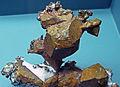 Copper crystals (Mesoproterozoic, 1.05-1.06 Ga; Quincy Mine, Hancock, Upper Peninsula of Michigan, USA) 1 (17121644789).jpg