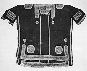 Tunic - Coptic-Byzantine wool tunic, small enough for a child (6th century AD) (Walters Art Museum)
