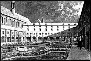 Cordeliers Convent - The Cordeliers Convent in 1793