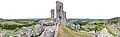 Corfe Castle, UK - 360° Panorama.jpg