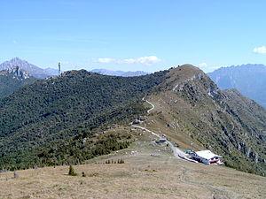 Cornizzolo - Image: Cornizzolo Vista