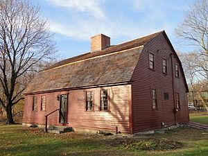 Coronet John Farnum Jr. House - Image: Coronet John Farnum, Jr., House Uxbridge, Massachusetts DSC02844
