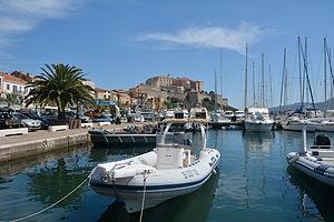 Corsica Calvi port citadelle.jpg