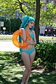 Cosplayer of Hatsune Miku with bikini 20130526.jpg