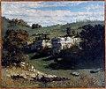 Courbet - Landscape near Ornans, ca. 1851.jpg