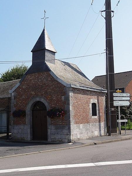 Cousolre (Nord, Fr) la chapelle de Cousolre
