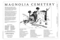 Cover Sheet - Magnolia Cemetery, 70 Cunnington Avenue, Charleston, Charleston County, SC HABS SC-700 (sheet 1 of 3).png