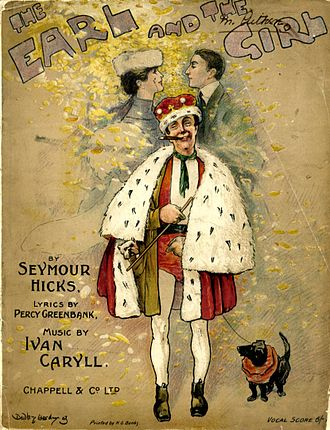 Seymour Hicks - Cover of Vocal Score