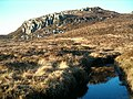 Crag north of Loch na Creige Maolaich - geograph.org.uk - 114591.jpg