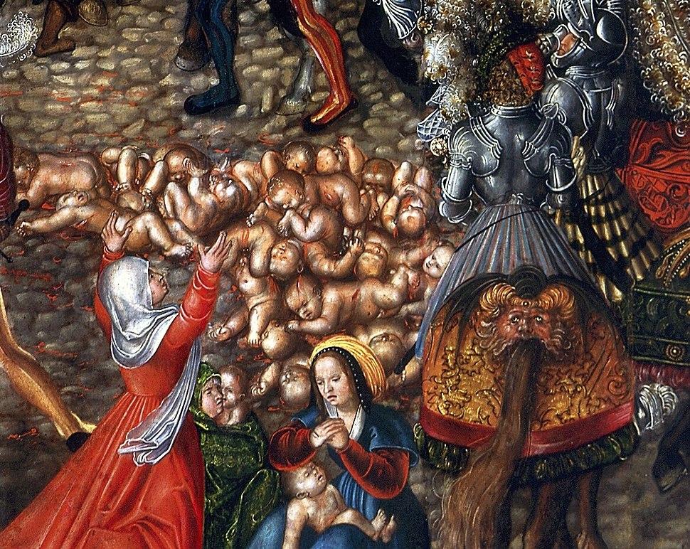 Cranach Massacre of the Innocents (detail)