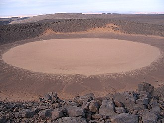 Amguid crater - Image: Cratere Amguid