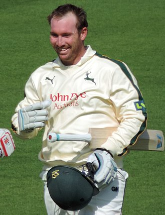Brendan Taylor - Taylor playing for Nottinghamshire in 2015