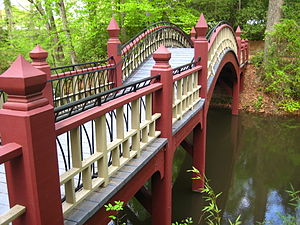 Crim Dell bridge - The Crim Dell bridge