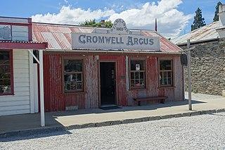 <i>The Cromwell Argus</i> New Zealand newspaper