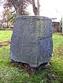 Cross base in Rastrick Churchyard - geograph.org.uk - 77197.jpg