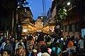 Crowded Durga Puja Pandal - Falguni Sangha - Suren Tagore Road - Kolkata 2013-10-11 3351.JPG