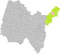 Crozet (Ain) dans son Arrondissement.png