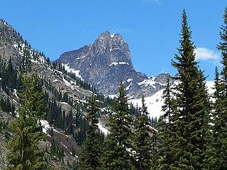 Cutthroat Peak - Image: Cutthroat Peak 8050'