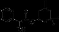 Struktur von Cyclandelat