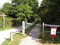 Cycle track through Haysden Country Park. - geograph.org.uk - 189758.jpg