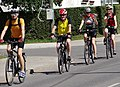 Cyclists on Street - Valga - Estonia (36141329606).jpg