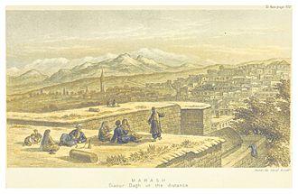 Kahramanmaraş - Panorama view (c1875)