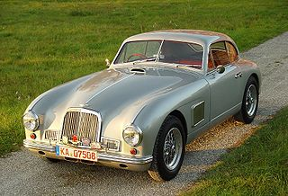 Aston Martin DB2 sports car
