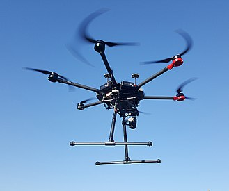 Caracas drone attack - A DJI M600 drone, similar to the drone used during the incident