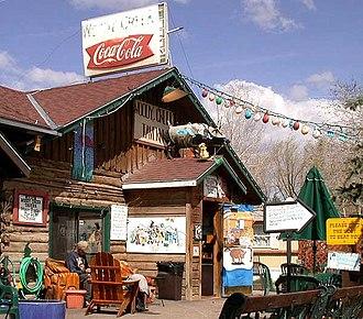 Woody Creek, Colorado - Woody Creek Tavern, a landmark business in Woody Creek