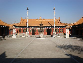 Dazhao Temple (Hohhot) - Image: Da Zhao Temple in Hohhot 3