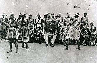 First Franco-Dahomean War - Dahomey Amazons, ca. 1890
