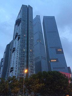Eton Place Dalian building complex in Dalian, China
