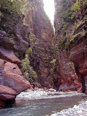 Gorges de Daluis - Gorges de Daluis