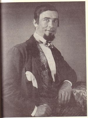 Dan Rice - Dan Rice circa 1840s. A daguerreotype portrait by Thomas M. Easterly.