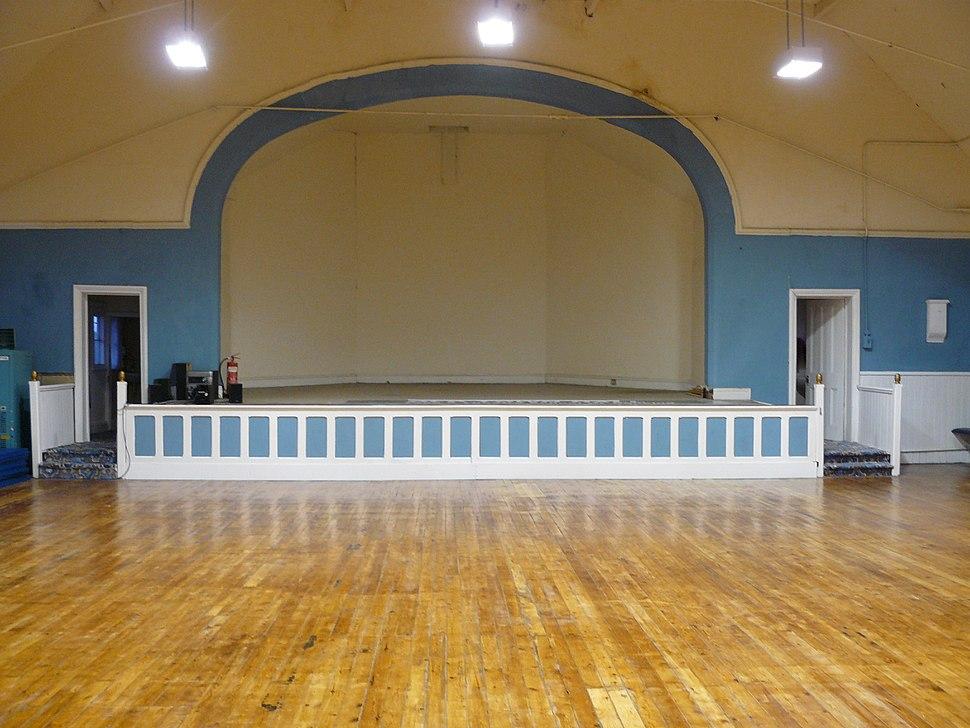 Dance hall post renovation