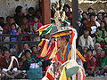 Dance of the Black Hats with Drums, Paro Tsechu 2.jpg