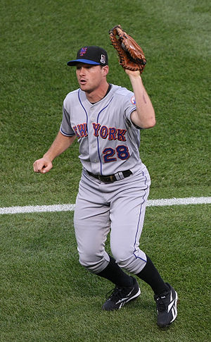 Daniel Murphy (baseball) - Murphy playing for the New York Mets in 2009