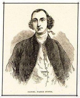 Daniel Parke Custis American planter and politician