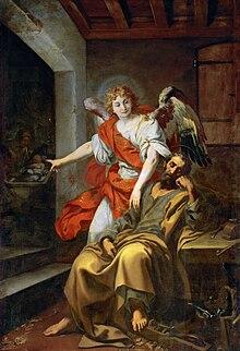 Daniele Crespi, Il sogno di Giuseppe, uno degli episodi presenti nel Vangelo di Matteo.