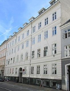 Danneskiold-Laurvig Mansion building in Copenhagen