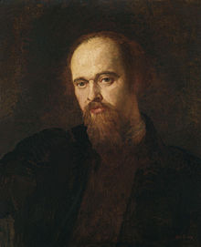 Portrait of Dante Gabriel Rossetti c. 1871, by George Frederic Watts