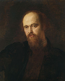 WATTS George Frederic Portrait of Dante Gabriel Rossetti c.1871