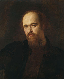 Dante Gabriel Rossetti British poet, illustrator, painter and translator