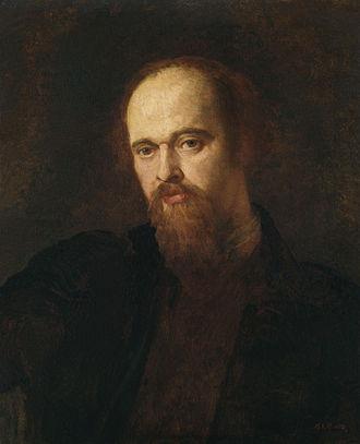 Dante Gabriel Rossetti - Portrait of Dante Gabriel Rossetti c. 1871, by George Frederic Watts