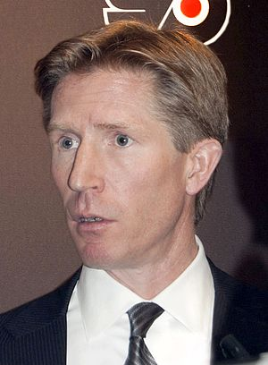 Dave Hakstol - Dave Hakstol being introduced as coach of the Flyers