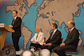 David Cameron with Pauline Neville-Jones, Liam Fox and Chris Grayling (4276445784).jpg