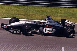 David Coulthard podczas Grand Prix Kanady 1999.