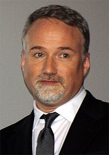 David Fincher på premiären av The Girl with the Dragon Tattoo (2012).